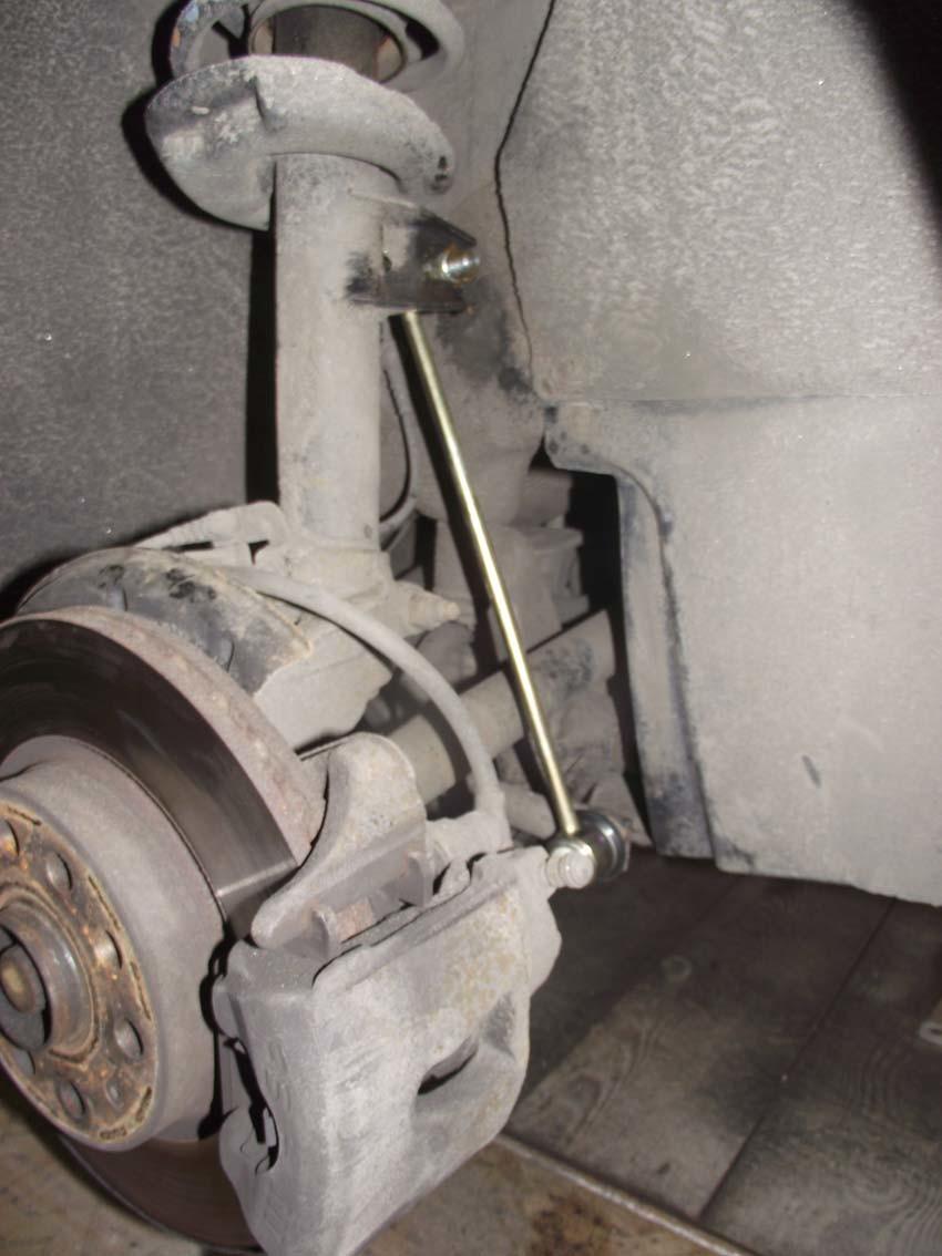 Инструкция по замене стоек стабилизатора